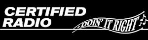 Certified Radio Doing It Right Edmonton Logo
